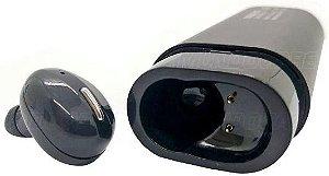 Fone Bluetooth Inpods Earbuds 2 Em 1 Exbom BTWS-PBS80