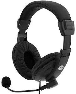 Headset Com Microfone Office Preto 0507 Bright