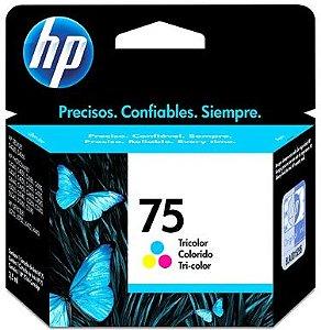 Cartucho de Tinta HP 75 Tricolor - CB337WB