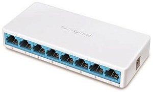 Switch de Mesa Mercusys 8 Portas 10/100Mbps MS108