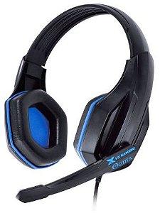 Fone De Ouvido Headset Gamer Ogma Preto/Azul