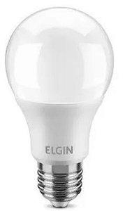 Lâmpada bulbo LED 60w 2700k A60 bivolt Elgin