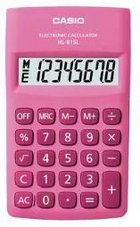 Calculadora Bolso 8 Digitos Hl-815L-Pk Rosa Casio