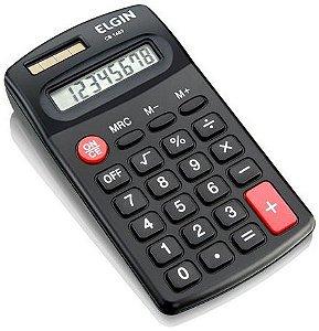 Calculadora de Bolso Elgin com 8 dígitos CB-1483 - Preto