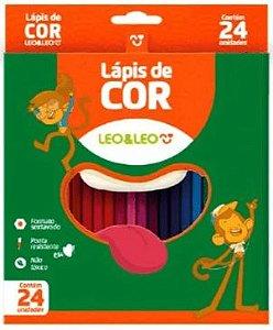 Lápis De Cor 24 Cores Sextavado