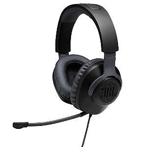 Headset Gamer Quantum 100, Drivers 40mm, Preto