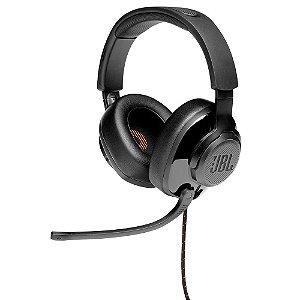 Headset Gamer JBL Quantum 200, Drivers 50mm, Preto