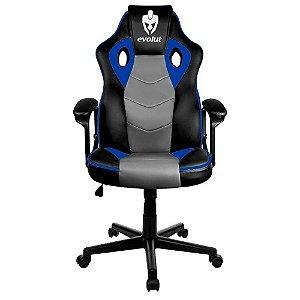Cadeira Gamer Evolut Hunter/Eg903, Azul