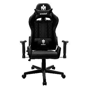 Cadeira Gamer Evolut Eg905/Tanker-V2, Preto