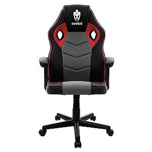 Cadeira Gamer Evolut Hunter/Eg903, Vermelho