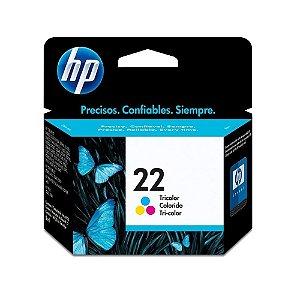 Cartucho HP 22 COLOR 6ML