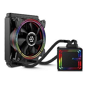 Water Cooler Alseye Halo H120 120mm - Preto Rainbow