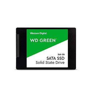 Ssd Wd Green 2.5'' 240gb
