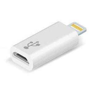 Adaptador Lightning 8 Pinos Para Micro Usb Apple, Iphone e Ipad