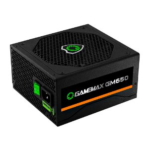 Fonte 650w Gamemax Gm650 - 80 Plus Bronze
