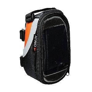 Bolsa Com Porta Celular Para Bicicleta Capacidade De 0,6l - Impermeável Com Touch