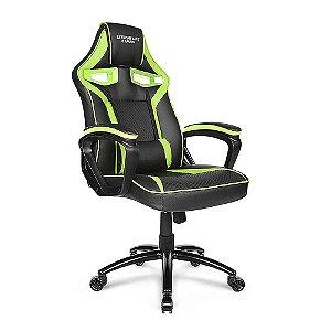Cadeira Gamer ELG Raptor CH04GE com Apoio Lombar - Preto Verde