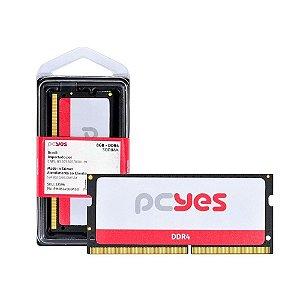 Memoria Pcyes Sodimm 8GB - Ddr4 2400MHZ
