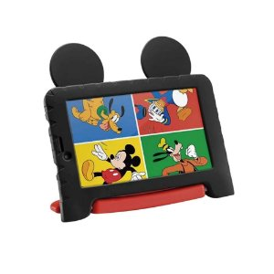 Tablet Infantil Multilaser Mickey Plusa - Android 8.1 Quad Core
