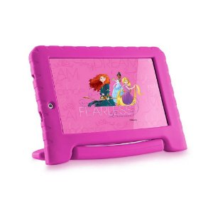Tablet Multilaser Disney Princesas Plus 16GB Tela 7 Pol.