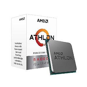 Processador AMD Athlon 3000G - Cache 5MB, 3500MHz, AM4