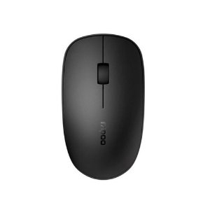 Mouse Rapoo Sem Fio/Bluetooth 2.4 Ghz Black - RA0110