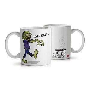 Caneca Zombie Wants Coffee