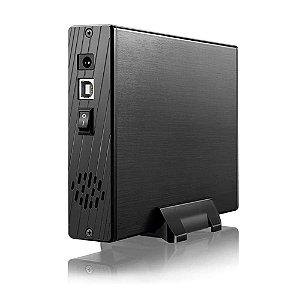 "Case para HD Externo 3,5"" GA119 - Com Ventilador"