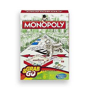 Jogo Monopoly Grab & Go Hasbro - B1002