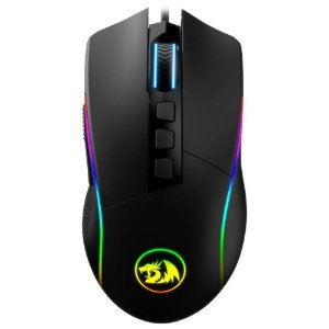Mouse Gamer Redragon Lonewolf 2, RGB, 10 Botões, 32000DPI