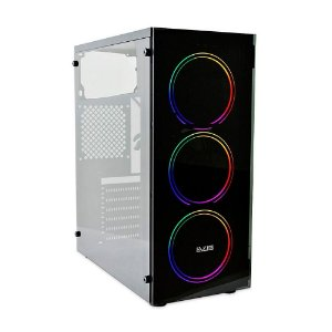 Gabinete Gamer Evus EV-G14 - 3 Coolers LED