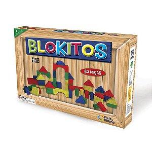 Blokitos 60 Peças - Pais & Filhos