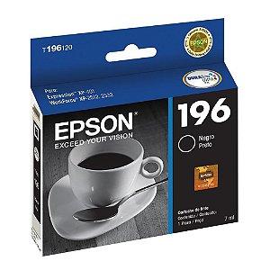 Cartucho de Tinta Epson Preto - T196120BR