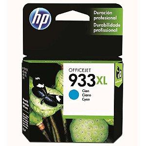 Cartucho de Tinta HP Officejet 933XL, Ciano - CN054AL