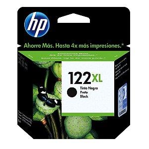 Cartucho de Tinta HP 122XL Preto - CH563HB