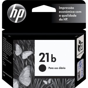 Cartucho de Tinta HP 21 Preto Every Day C9351BB