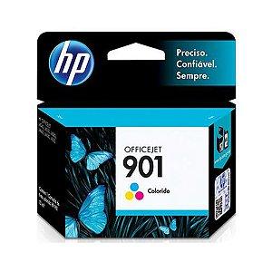 Cartucho de Tinta HP Colorido 901 CC656AB