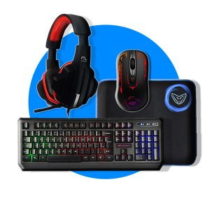 Kit Periféricos GAMER (Mouse, Teclado, Headset e Mousepad.)