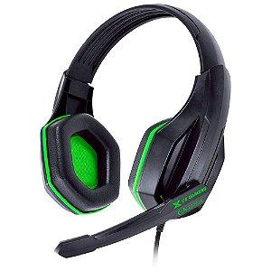 Headset Gamer Vinik VX Gaming Ogma - Preto e Verde