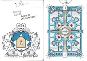 Baralho Alice In Wonderland - Alice No Pais Das Maravilhas  - 2 Cartas Bônus
