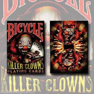 Baralho Bicycle Killer Clowns Palhaços Assassinos