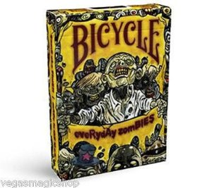 Baralho Bicycle Everyday Zoombies  USPCC