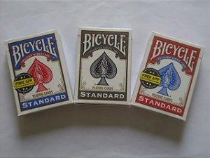 1 Baralho Bicycle Standard Vermelho - OU Azul - OU Preto