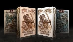Baralho Heroes Of The Nations - Dark  OU Light -  Magica Poker   $64,80 cada