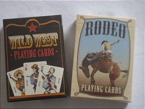 Baralho  Rodeo  OU  Wild West  Original USPCC   $26,80 cada