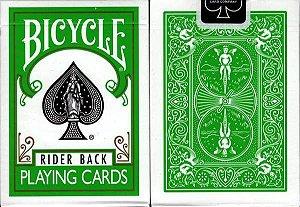 5A - Baralho  Bicycle Rider Back Verde   Original