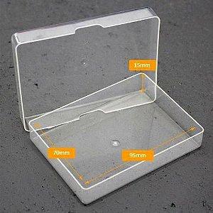 Estojo  Transparente Para Cartas de Baralhos 100% Plastico
