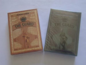 Baralho The Guard  Oak Ou Slate Cardistry Magica Edçao ltda  2 Gaff Cards