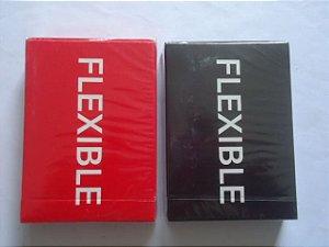 Baralho Flexible Vermelho  OU Preto  Cardistry Magica Poker  Truco  $44,80 cada