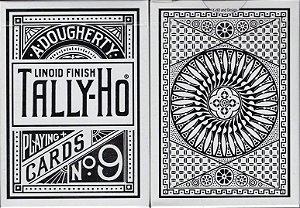 Baralho Tally- Ho Branco Cadistry Magico Poker  - 2 Gaff Cards